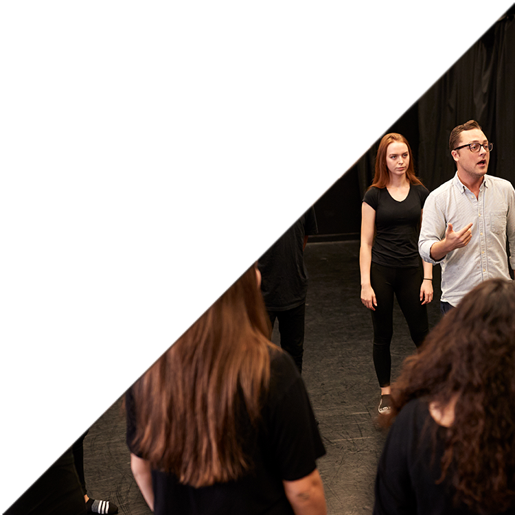 Acting Intensive 1 year program at Gately/Poole Acting Studio students learning acting.